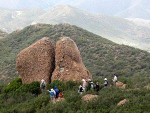 Backbone Trail Part 2:    Mishe Mokwa Trailhead to the Big Sycamore Canyon Trailhead Shuttle