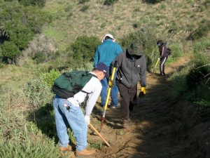 Work Party - Lower Stagecoach Trail