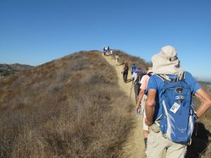 Long Canyon, Oak Canyon, Montgomery Canyon, Challenger Park, Coyote Hills Park, Canyon View Trail Loop