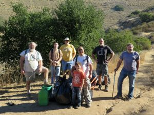 Work Party – Wild Animal Corridor – Cache In Trash Out Event