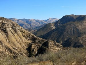 Chivo Canyon and the Tapo Canyon Overlook