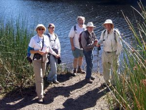 Nicholas Flat Trail from Leo Carrillo State Park to Nicholas Pond